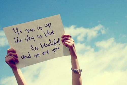 you are beautiful as the sun